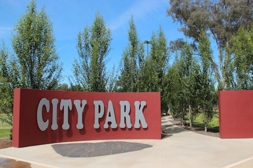 City Park, Griffith, NSW, October 2013