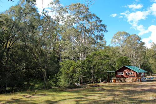 Peace Cabin, Avelon, outside Tenterfield, northern NSW, July 2014