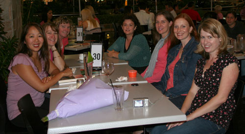Ladies' night out, November 2008