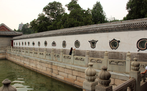 Summer Palace Imperial Gardens, Beijing, China, August 2014