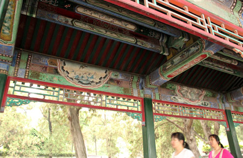 Long Corridor, Summer Palace Imperial Gardens, Beijing, China, August 2014