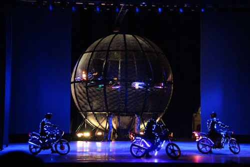 Chaoyang Theatre Flying Acrobatic Show, Beijing, August 2014