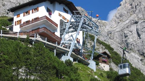 Cable-car to Eisriesenwelt, Werfen, Austria