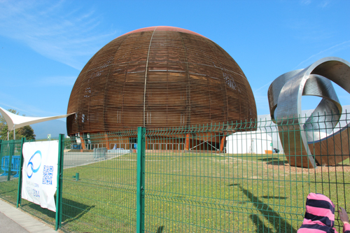 Globe of Science and Innovation, CERN, Geneva, Switzerland, September 2014