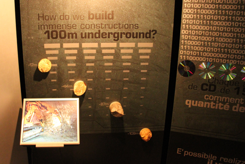 Microcosm exhibition, CERN, Geneva, Switzerland, September 2014
