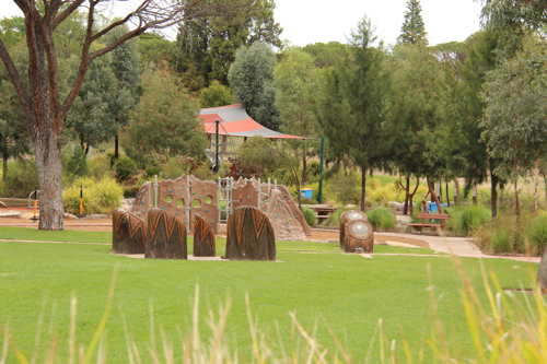 Bathurst's Adventure Playground, NSW, January 2015