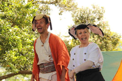 Sinbad the Sailor, performed by Big Monkey Theatre, Hobart, Tasmania, January 2015