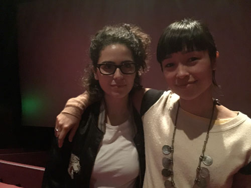 Producer Charlotte Mars and Director Maya Newell, September 2015