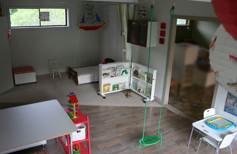 Playroom, April 2009