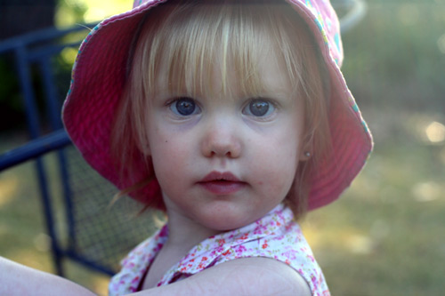 Calista, 17 months old, September 2009