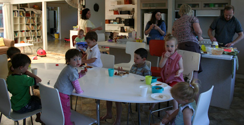 Kids in the house, September 2009