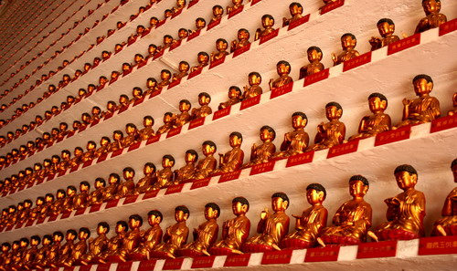 Temple of 10,000 Buddhas, Hong Kong, October 2009