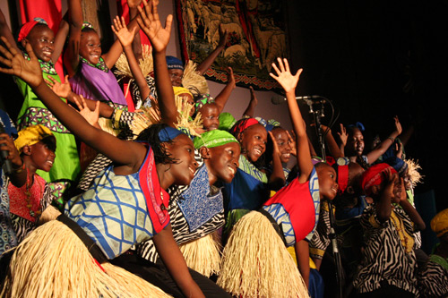 Watoto children's choir, April 2010