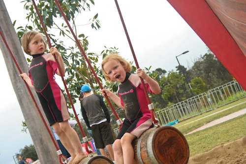 Palm Beach Parklands pirate-ship playground