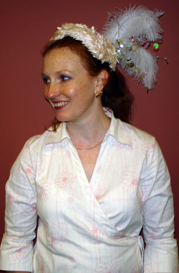 My Melbourne Cup headdress