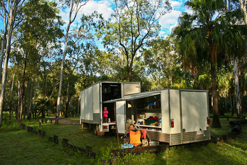 Camping at Carnarvon National Park, November 2010