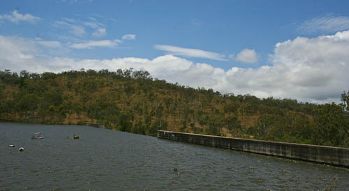 No. 7 dam, Mount Morgan, November 2010