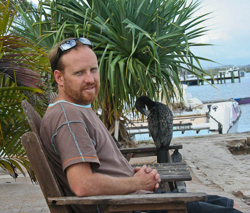 David at Tin Can Bay, December 2010