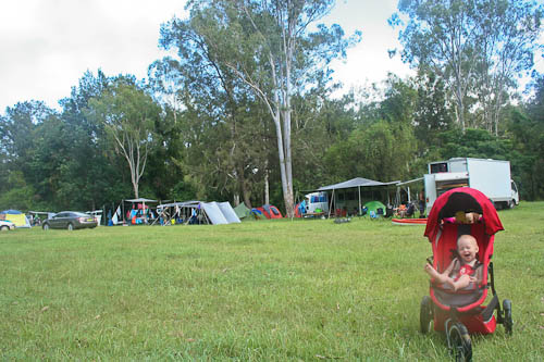 Camping at Bigriggen, February 2011