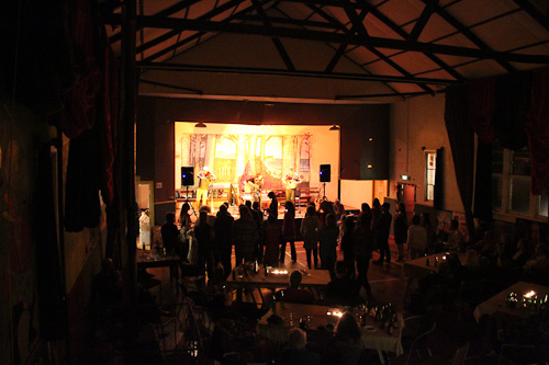 Concert at the Swamp Palace, April 2011