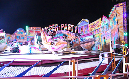David on the Cyber-Party ride at the Beenleigh Show, September 2011
