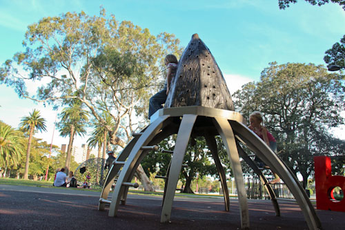 Redfern Park, January 2012