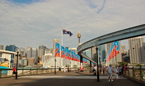 Darling Harbour, January 2012