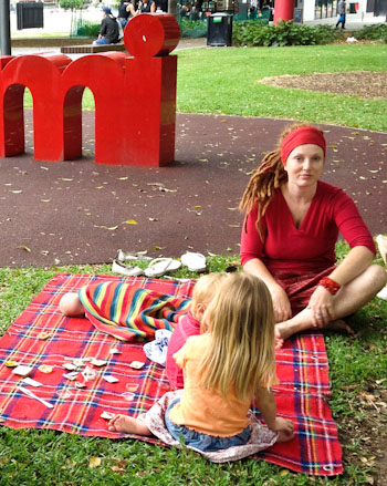 In Redfern Park, January 2012