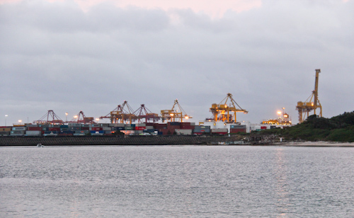Port Botany, January 2012
