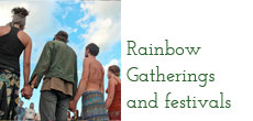 Rainbow Gatherings and festivals