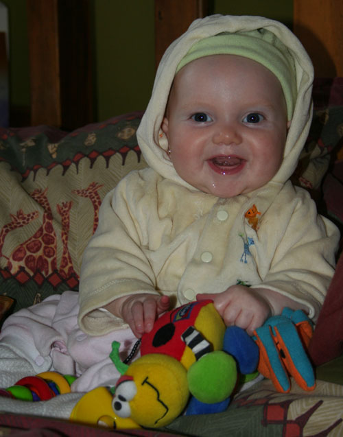 Aisha, 5 months old, July 2005