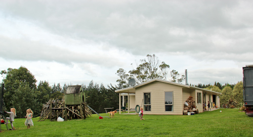 Edinboroughs' house, Kerikeri, April 2012