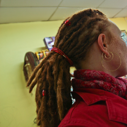 Tight dreadlocks, May 2012