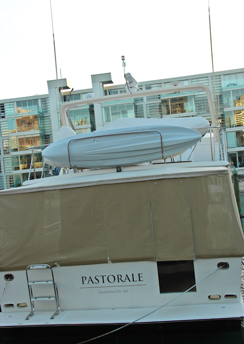 Pastorale, Auckland Harbour, May 2012