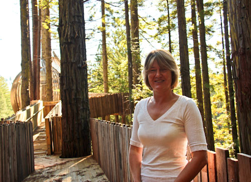 Maree Clement, Redwoods Treehouse, Warkworth, May 2012