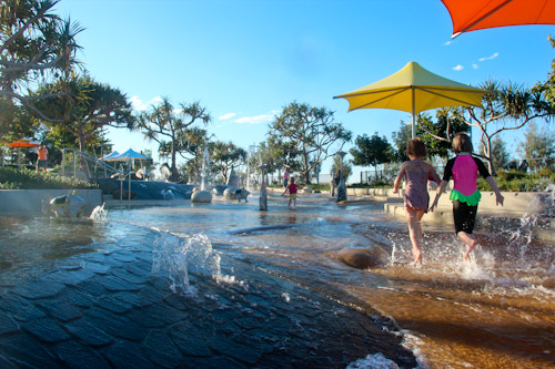 Rockpools playground, Broadwater Parklands, Southport, August 2012