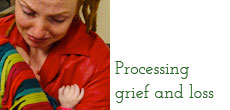 Processing grief and loss — when tears form words