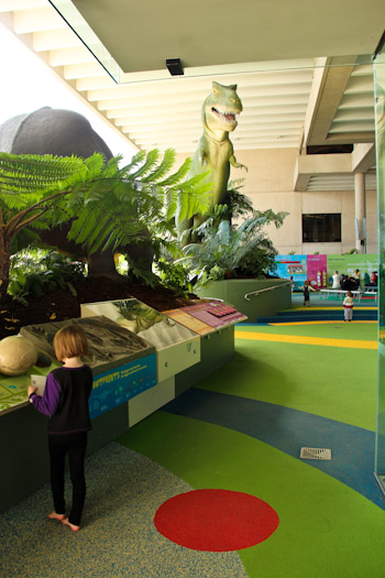 Playing at the Queensland Museum, South Bank, August 2012