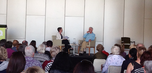 Robert Dessaix at the Brisbane Writers Festival, September 2012