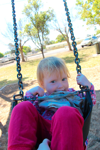 Delaney at Memorial Park, Kingaroy, September 2012