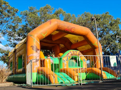 Jumping castle, Kingaroy, September 2012