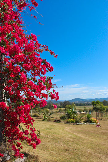 Outside Kilcoy, Sunshine Coast hinterland, September 2012