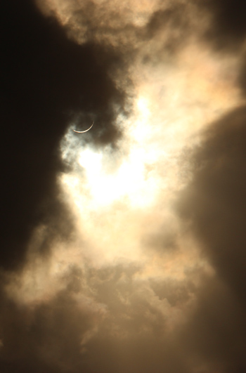 Total solar eclipse, November 2012