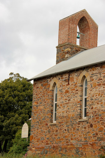 Church in the Tamar Valley, Tasmania, December 2012