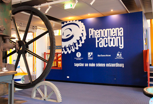Phenomena Factory, QVMAG, Inveresk, Launceston, Tasmania, January 2013