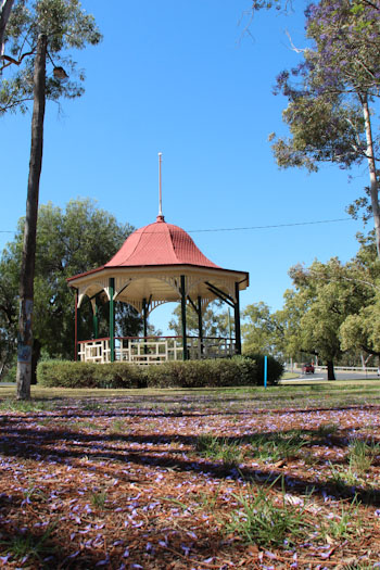 Rocket playground, Kirkby Park, Moree, NSW, October 2013