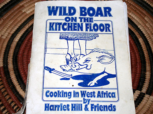 Wild Boar on the Kitchen Floor cookbook