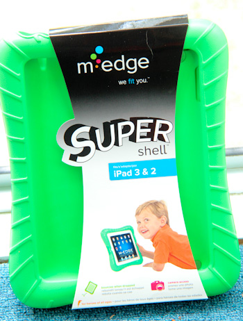 M-Edge SuperShell iPad case, great for kids